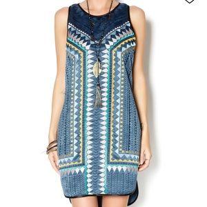 Anthropologie greylin Azteca Embroidered Dress